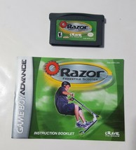 Razor Freestyle Scooter - Nintendo Game Boy Advance GBA 2001 Video Game ... - $5.45