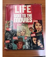 LIFE GOES TO THE MOVIES: Pictorial Panorama of Hollywood Glamour, 1975 H... - $6.99