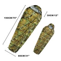 Outdoor Sleeping Bag Mummy Ultra Light Adult Portable Camping - $52.99