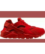 Nike Huarache Run University Red tripple red rate running 5.5 y womens s... - $100.91