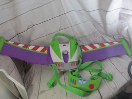 Disney Buzz Lightyear Talking Space Ranger Jet Pack with Wings Working Sounds! - $49.49