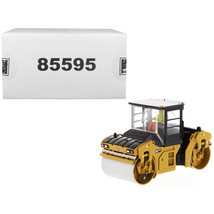 CAT Caterpillar CB-13 Tandem Vibratory Roller with Cab and Operator High... - $64.61