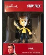 "Hallmark 2018 Star Trek Captain KIRK Christmas Tree Ornament New 4"" Tall... - $16.82"