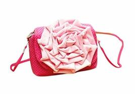 PANDA SUPERSTORE Cute Kid's Bag Girls' Wallet Coin Purse Kid Gift, Pink Flower