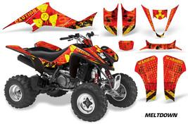 ATV Decal Graphic Kit Wrap For Suzuki LTZ400 Kawasaki KFX400 2003-2008 MELT Y R - $168.25