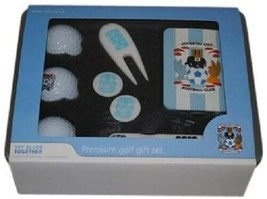 COVENTRY CITY FC PREMIUM GOLF GIFT TIN, BALLS, BAG TAG, PEN - $25.33