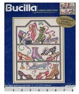 Bucilla Antique Shoe Collection Counted Cross Stitch Kit 42640 - $79.99
