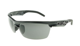 ZERORH+ Radius Shiny Black / Gray Sunglasses RH731-01 ZEISS - $126.91