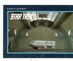 Star Trek card #247 Shuttlecraft - $3.00