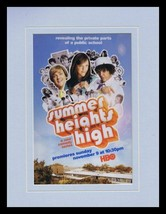 Summer Heights High 2008 HBO 11x14 Framed ORIGINAL Vintage Advertisement  - $32.36