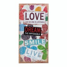 Living Room Wall Art, Home Family Canvas Wall Art Decor With Love Bumper... - $28.93