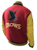 Crows Tom Welling Smallville Letterman Clark Kent Varsity Bomber Jacket  image 3