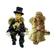 """Boyds Bears Wee Folkstone Faerie """"Bride & Groom Set of 2""""- 36103 & 36104- NIB-Re - $29.99"""