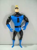 "DISNEY PIXAR THE INCREDIBLES MR. INCREDIBLE BLUE SUIT LIGHT UP 7"" ACTION... - $15.63"