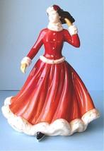 Royal Doulton Pretty Ladies WINTER FUN Figurine HN-5258 Seasons Pastimes New - $134.90