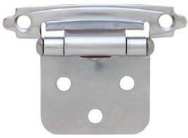 Liberty Hardware H0103AV-CHR-O2 2 Pack Chrome plated hinges - $4.50