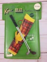 Vintage Mattel 1970 NOS KEN & BRAD Action Wear Pak GOLF GEAR Japan - $79.48