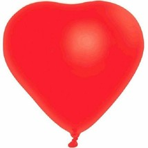 "Red Heart 6 12"" Latex Balloons Party Valentine's Day Anniversary - $3.91"