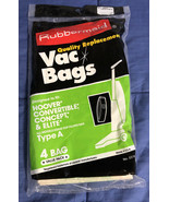 New Rubbermaid Vacuum Bags Type A for Hoover, Convertible & Concept 1 Pa... - $4.45