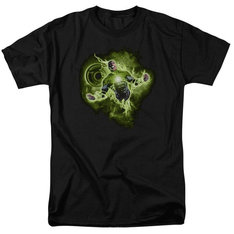 Green lantern lantern nebula men s regular fit t shirt gl315 at 800x