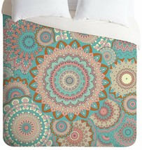 DENY Designs Monika Strigel Coachelly Ultra Soft Duvet Cover in Queen W/... - $65.30
