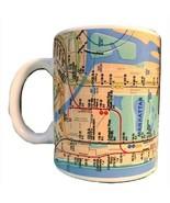 NYC New York MTA SUBWAY MAP Coffee Mug - No Longer Produced - New - Transit - $14.85