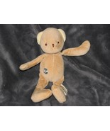 "Hosung Stuffed Plush My Natural Brown Tan Teddy Bear 2006 9"" - $39.59"