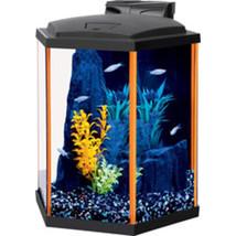 Aqueon Orange Aqueon Neoglow Aquarium Kit Hexagon 8 Gallon - $157.07