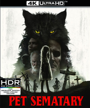 Pet Sematary 2019 [4K Ultra HD + Blu-ray]