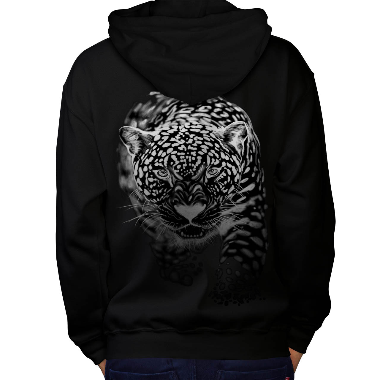 Primary image for Cougar Puma Killer Sweatshirt Hoody Cat Hunting Men Hoodie Back