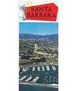 ORIGINAL Vintage 1960s Santa Barbara California Tourism Brochure - $12.19