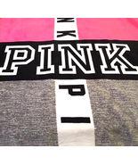 Victoria's Secret PINK Grey Black & Pink Sherpa Blanket New in Package! - $125.00