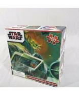 "Star Wars Lenticular 100 Piece Puzzle Size 12""X9"" X-Wing Tie Fighter Dea... - $7.33"