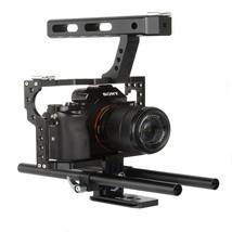 VELEDGE VD-07 Portable Aluminum Camera Cage Rig Stabilizer Top Handle Gr... - $90.70