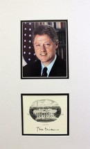"BILL CLINTON PRESIDENTIAL ""AUTOGRAPH"" On White House Vignette Election S... - $494.01"