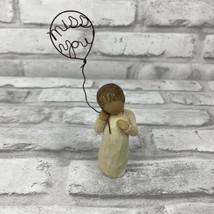 Willow Tree Figurine Miss You Wire Balloon 2006 Susan Lordi Demdaco 5 Inches - $12.59