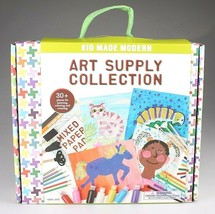 Kid Made Modern Art Supply Collection 30+ Pieces Painting Coloring Craft Set NIB