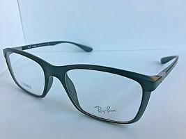 New Ray-Ban RB 3670 4054 52mm Liteforce Olive Men's Eyeglasses Frame Italy - $79.99