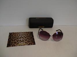 Roberto Cavalli Lunettes de Soleil Stictite 503S Violet Verres Rond - $149.10