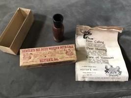 Herter's  903 World Famous  Deer Master Deer Call Box & Manual Vintage 1966 - $90.00