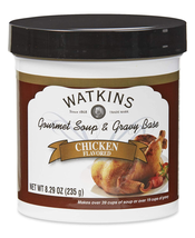 Watkins Chicken Soup and Gravy Base Net Wt 8.29oz (235g) - $11.99