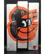 Baltimore Orioles Wood Fence Sign Wincraft 11x17 Brand New MLB Baseball - $14.85