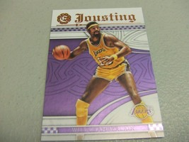 2016-17 Panini Excalibur JOUSTING #21 Wilt Chamberlain -Los Angeles Lakers- - $3.12