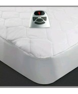 Biddeford QUILTED TWIN Heated Mattress Pad with Controller ~ NEW - $39.99