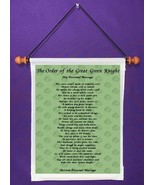 Order of the Great Green Knight - Personalized Wall Hanging (585-1) - $18.99