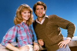Shelley Long and Ted Danson in Cheers standing together studio pose 24x18 Poster - $23.99