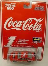 1997 Revell Racing Coca-Cola 600 #1 Monte Carlo 1:64 Scale Diecast Replica #4502 - $4.21