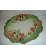 Antique Hand Painted Artist Signed Limoges Charge Plate - $69.99