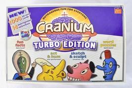 2004 Cranium Turbo Edition Board Game New Open Box - $54.41