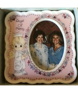 Vintage Precious Moments Pink Picture Frame in Box - $18.00